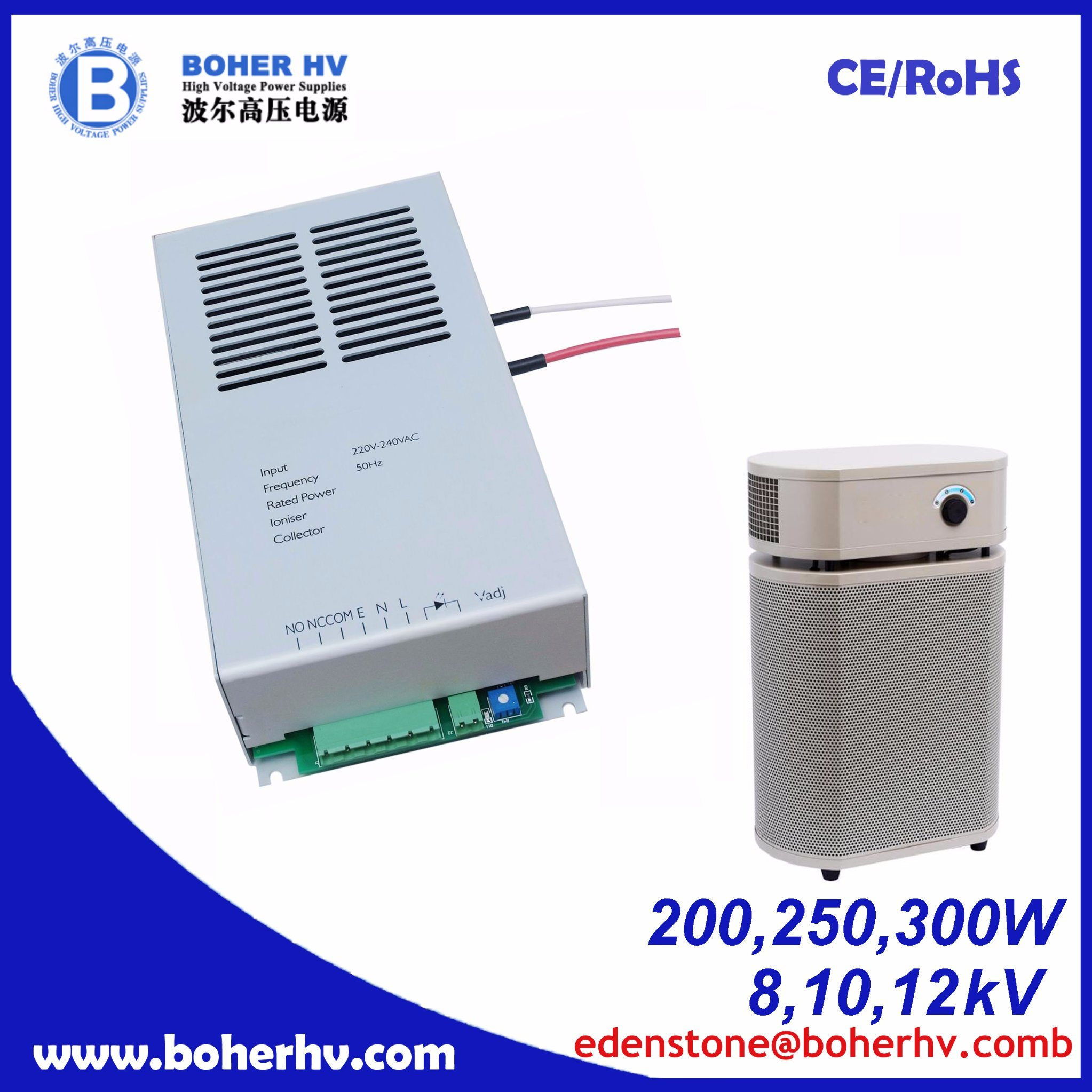 High-Voltage Air Purification 200W Power Supply CF04B