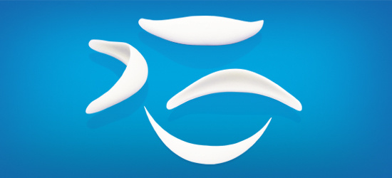 Silicone C7 Style Chin Implant for Chin Plastic Surgery