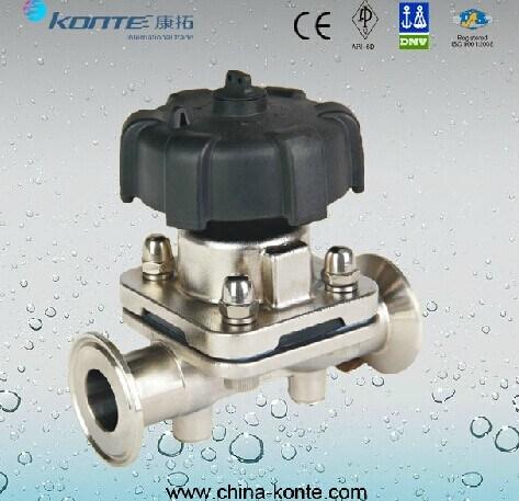 Stainless Steel Sanitary Diaphragm Valve Kt