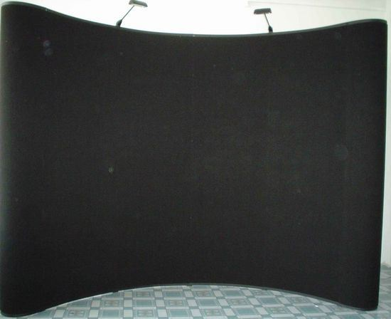 china 3x4 pop up with fabric panel pu001 china pop up display equipment. Black Bedroom Furniture Sets. Home Design Ideas
