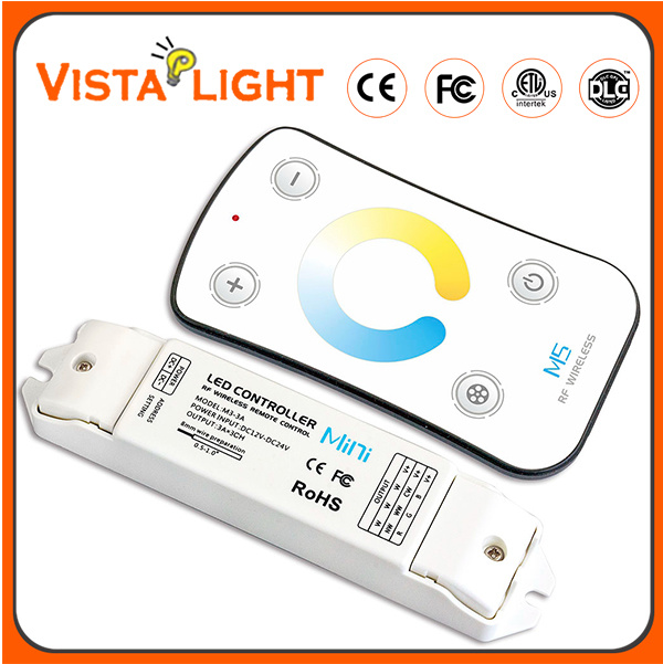 Adjust DC12V-DC24V Dimming Lighting RGB LED Controller