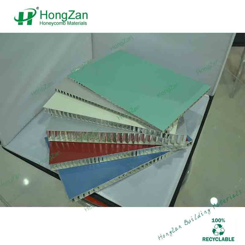 Perforated Aluminum Honeycomb Sandwich Panel with Non-Woven Fabrics Layer