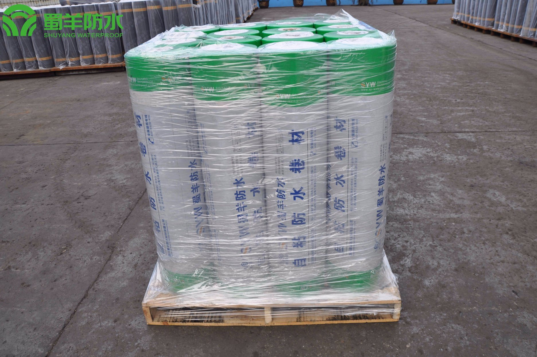 3mm SBS Waterproof Membrane PE Film Surface PY Reinforced