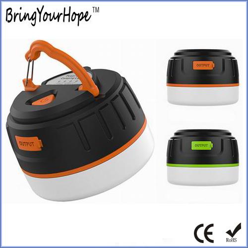 2 in 1 Waterproof Magnetic Camping Lantern Powerbank (XH-PB-246)