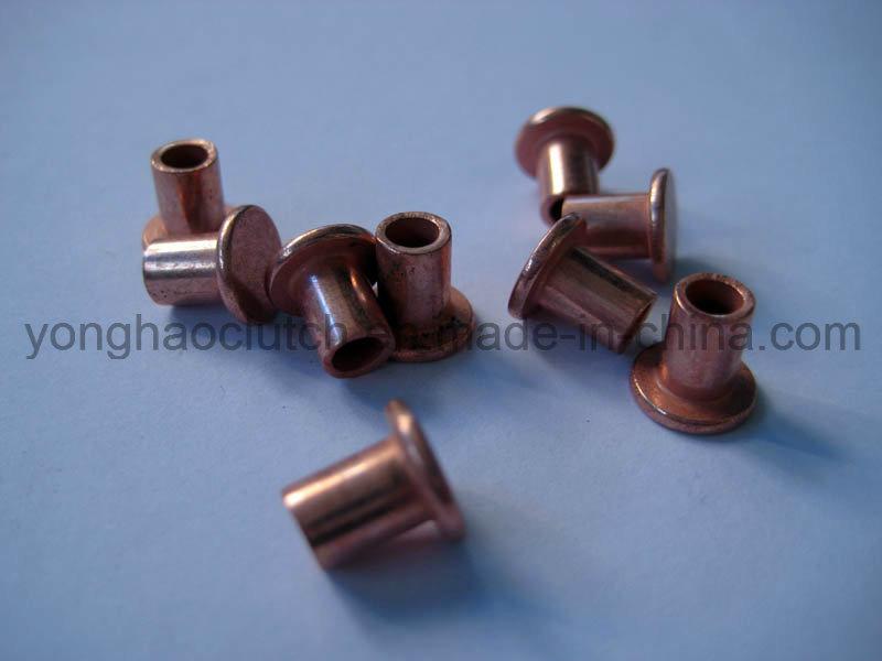 China Rivet Manufacturer Hollow Tubular Copper Rivets