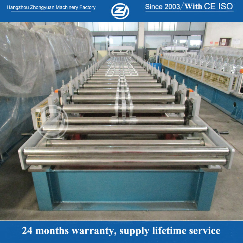 40mm Wall Plate Glazed Roof Panel Sheet Roll Former