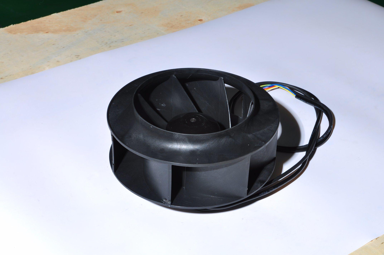 DC 24V 48V 310V 190mm Plastic Backward Curved Centrifgual Fan