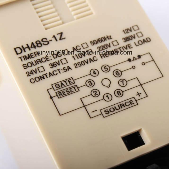 Dh48s-1z Ele⪞ Troni⪞ Display Digital Time Relay