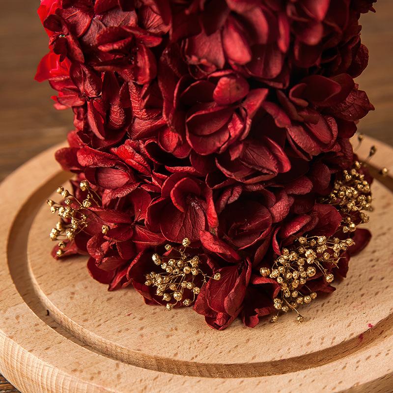 Wedding Christmas Flower in Glass for Gift