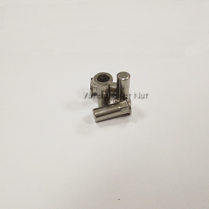 Stainless Steel Flat Head Inside&Outside Hexagon Rivet Nut with Closed End