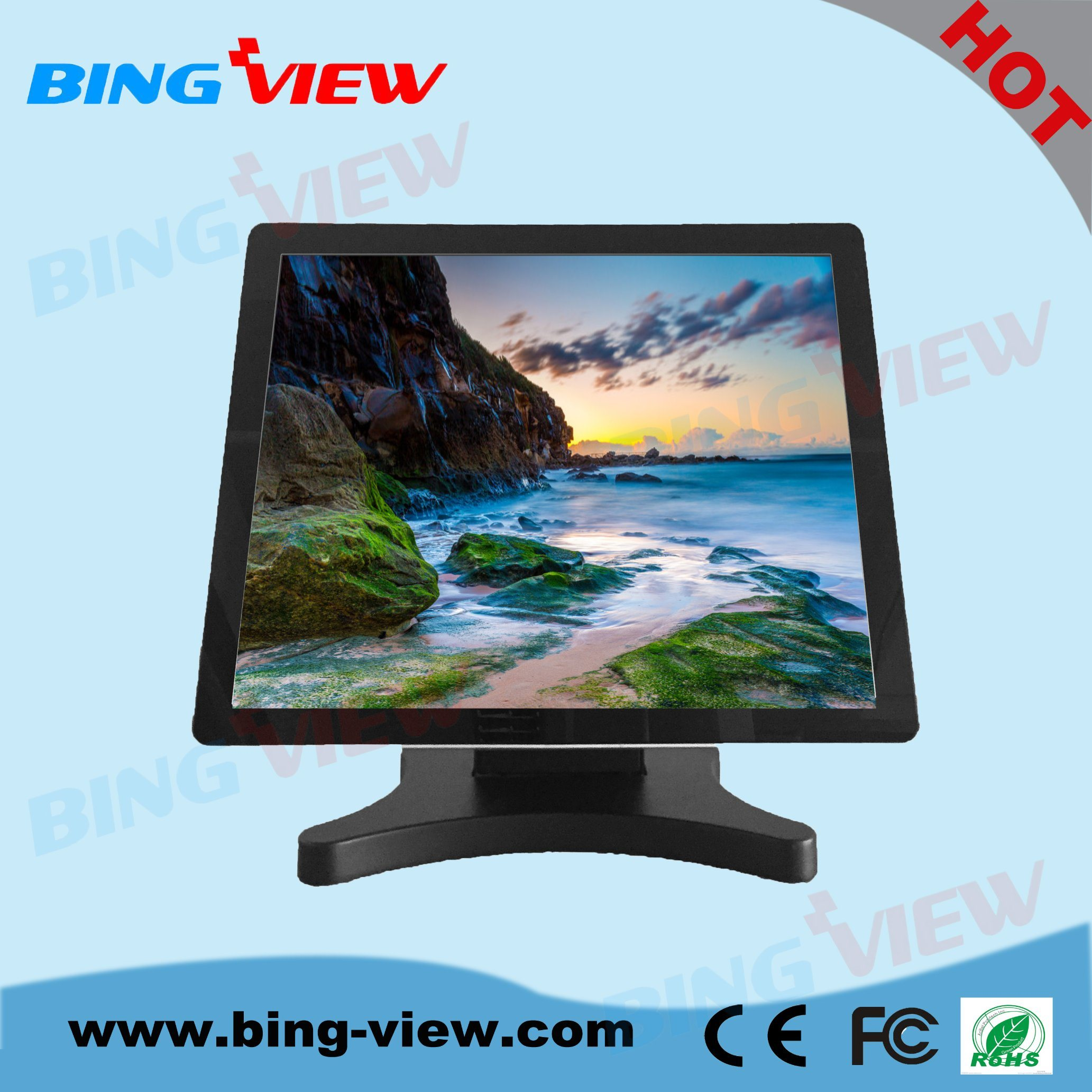 "15 "" POS Pcap Touch Screen Monitor"
