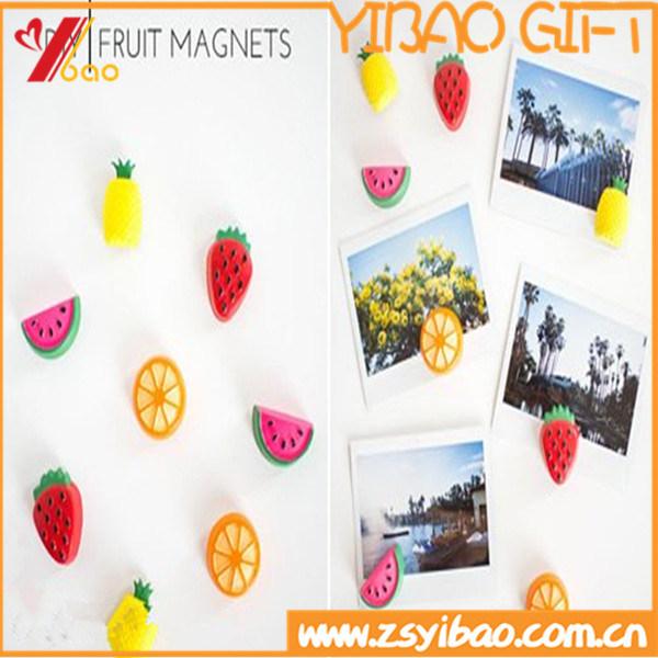 Colorful Fruit PVC Fridge Magnet Customed Logo (YB-HR-7)