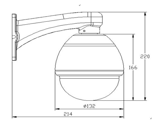 2.0MP HD IP66 Waterproof CCTV Dome Fisheye Security IP Camera From China Factory