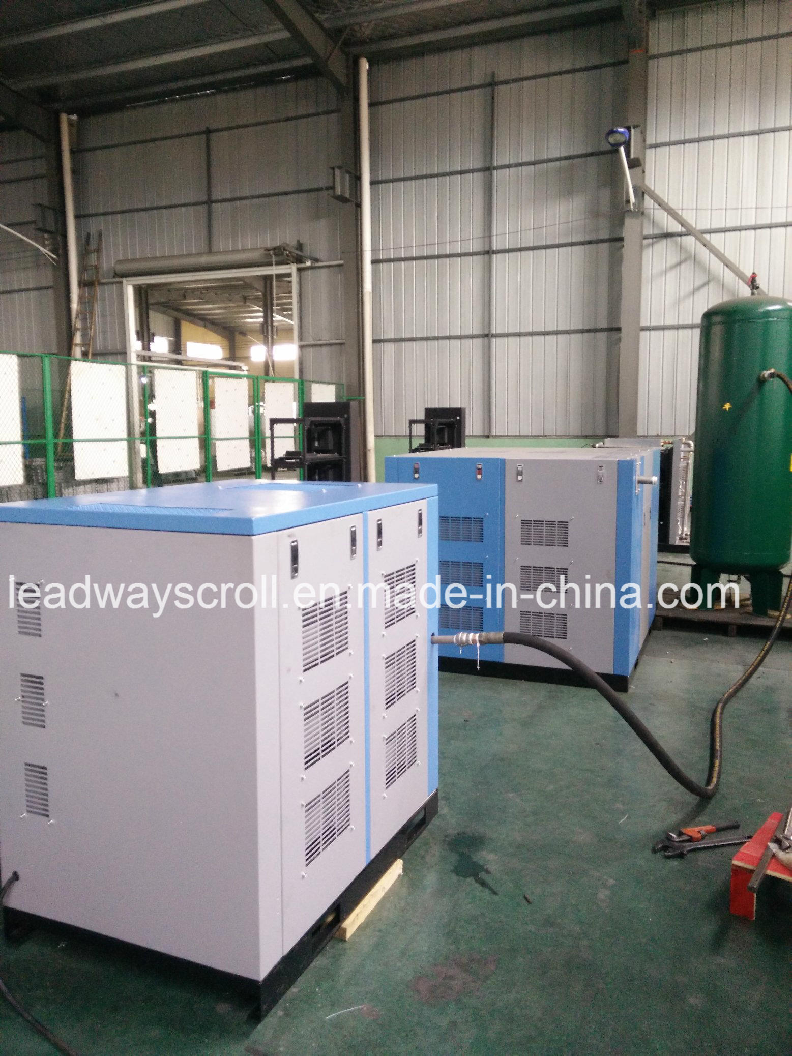 Oil Free Scroll Air Compressor for Food and Beverage Equipment