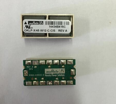 New Arrival Oklp-X/45-W12-C-Cis Original Module Non-Isolated DC/DC Converters 60A 7-13.2vin 0.6-3.63vout SMT
