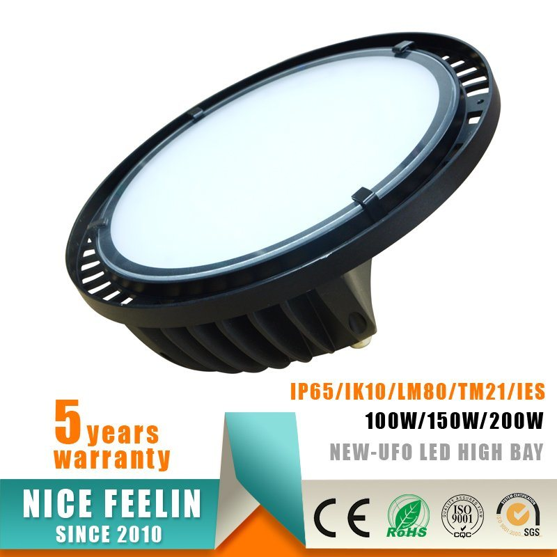 5years Warranty 200W UFO LED High Bay with Philips Driver