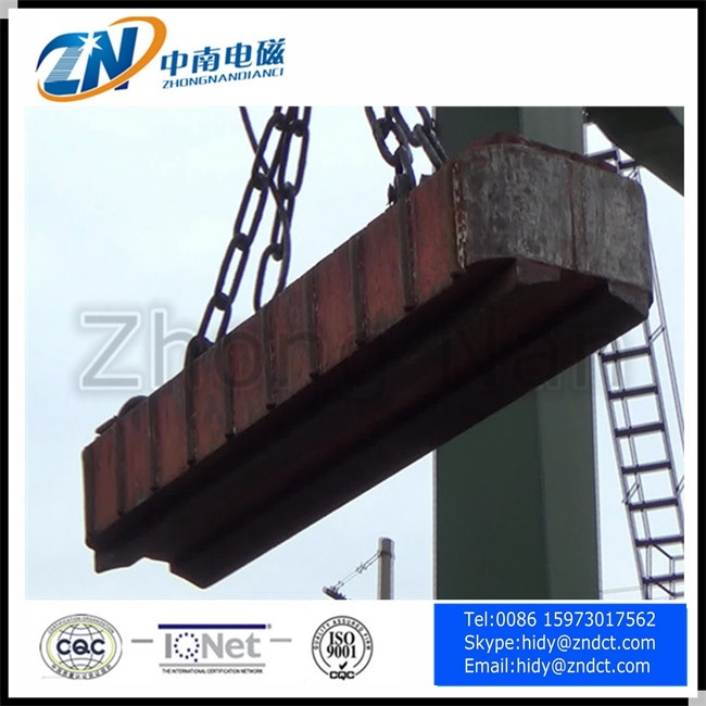 Wire Rod Coil Lifting Electro Magnet in Industry MW19