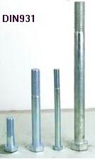 DIN 931 Hex Bolts Carbon Steel Bolt