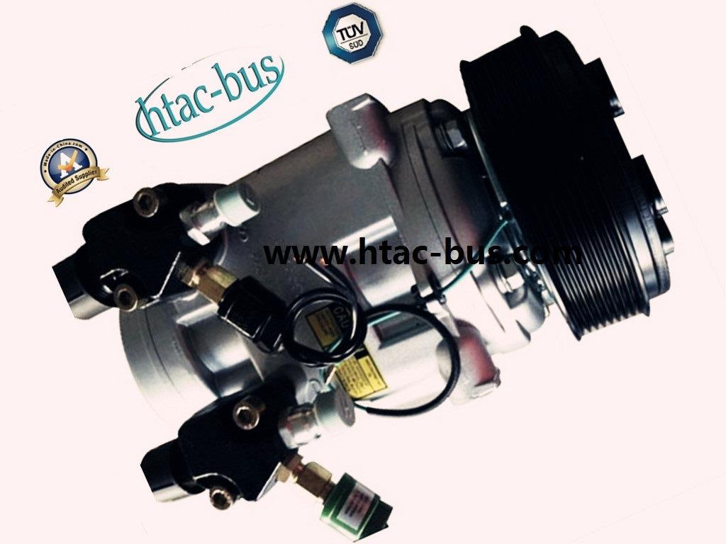 Bus A/C Compressor 315cc with 8pk Clutch 12V