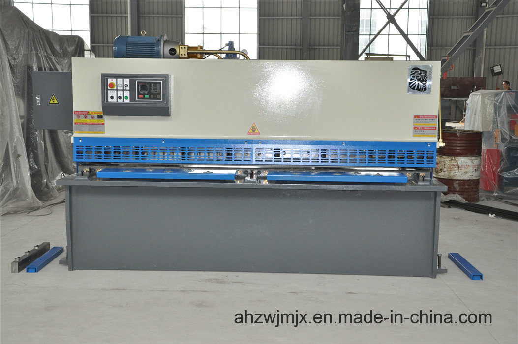 QC11k 8*3200 Hydraulic CNC Guillotine Shearing Machine