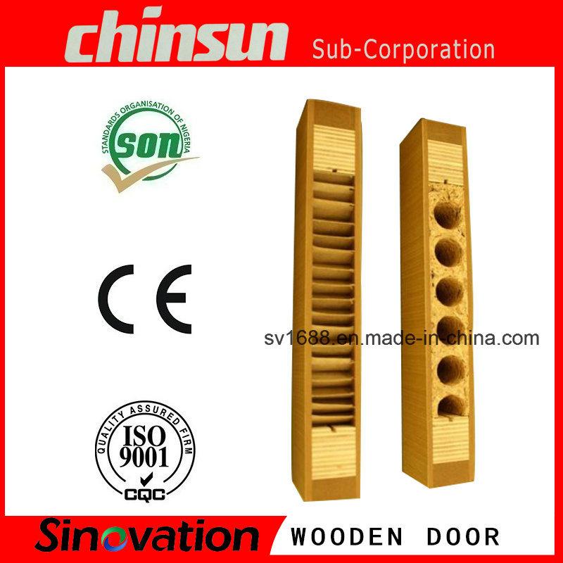Interior Wooden Door with PVC MDF