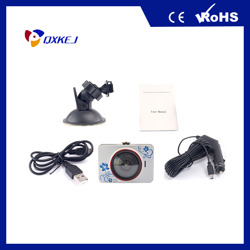 "2.4"" 120 Degree Wide-Angel Lens HD Video Recording Car Camera Night Vision Fuction Car DVR"