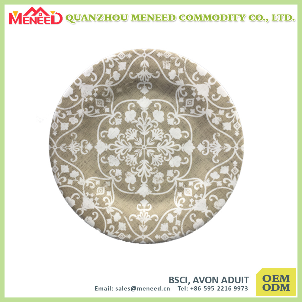 Ceramic Like Top Grade China Melamine Dishes