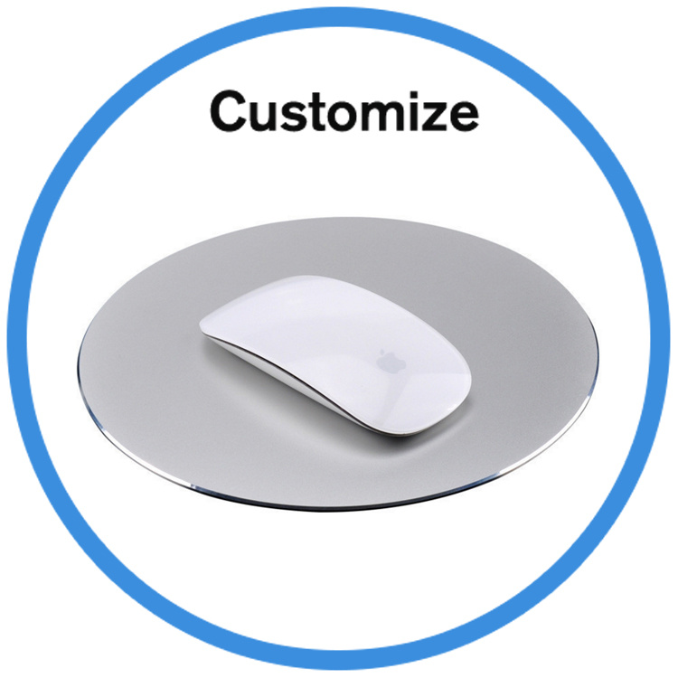 Custom Logo Aluminum Mouse Pad