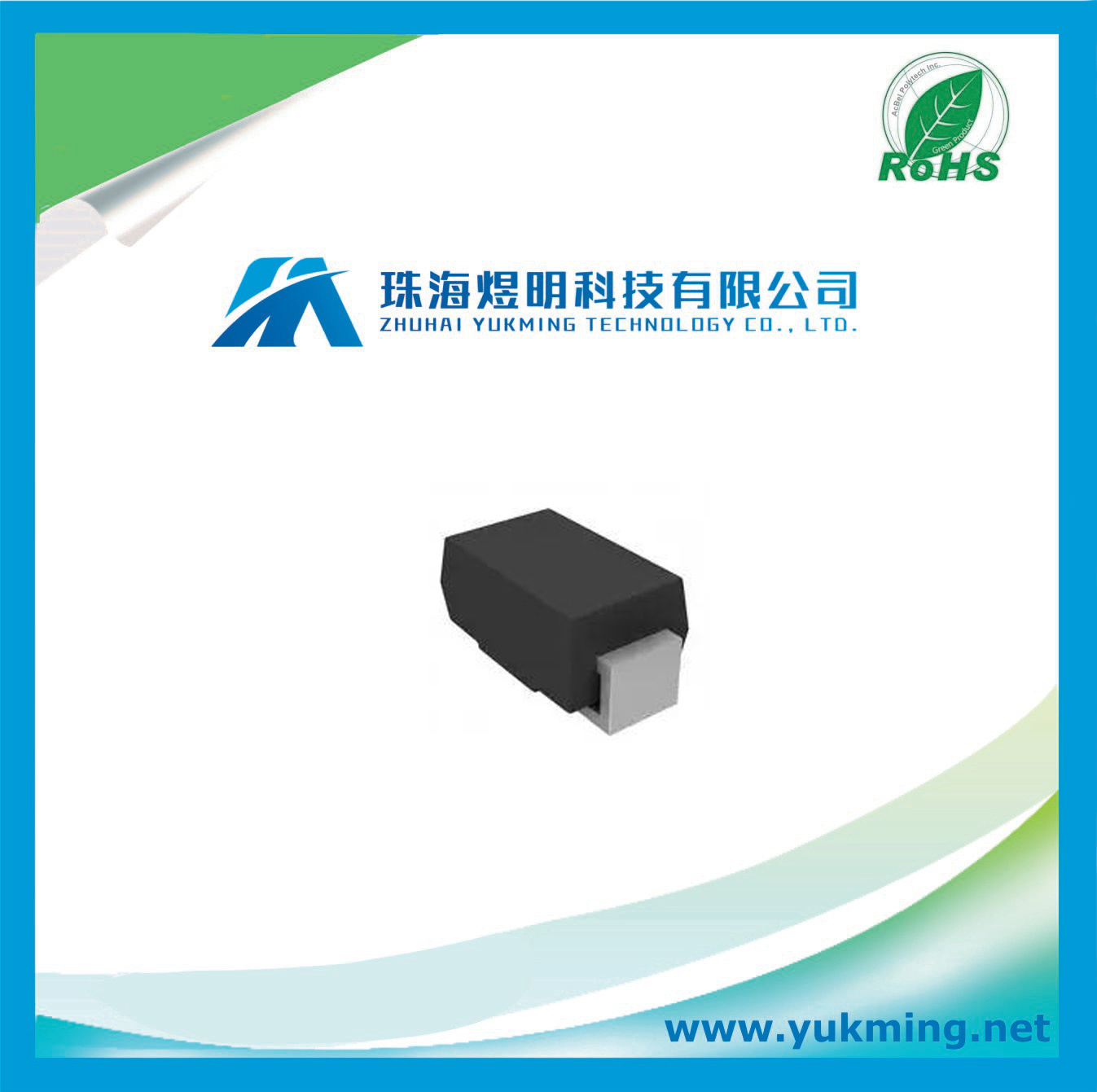 Electronic Component Diodes - Rectifiers - Single Diode for PCB Board Assembly