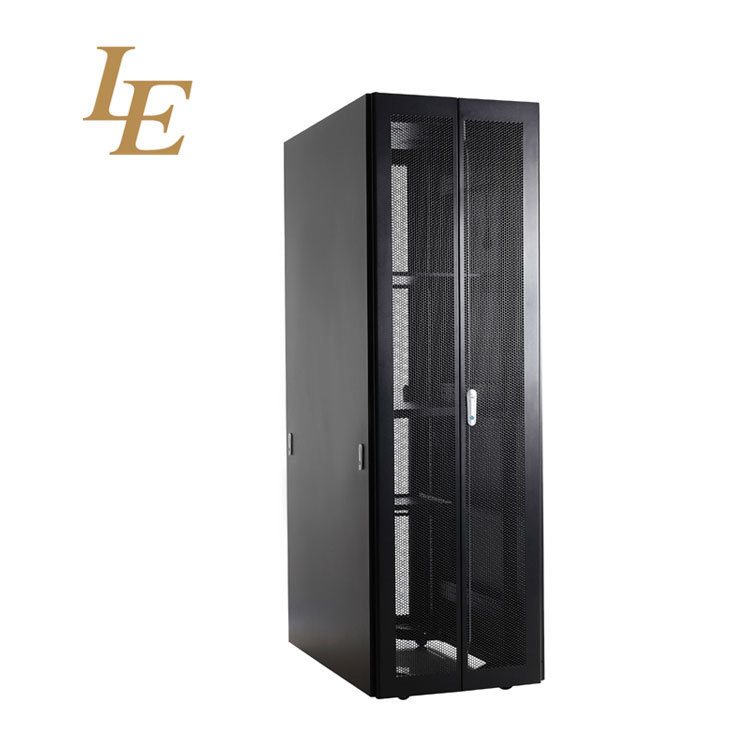 19 Inch Flat Pack Aluminum Perforated Vented Small Computer Server Cabinet