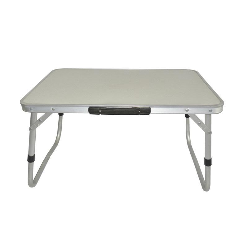 Folding Laptop Desk Portable Table Breakfast Bed Tray (M)