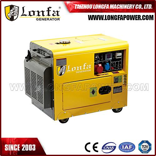 5kVA/ 6kVA Silent Type Diesel Generator with ATS Optional