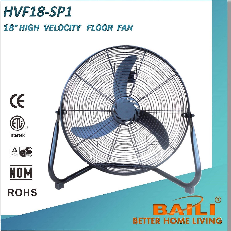 """18"""" High Velocity Floor Fan Industrial Fan with 3 Speeds"""