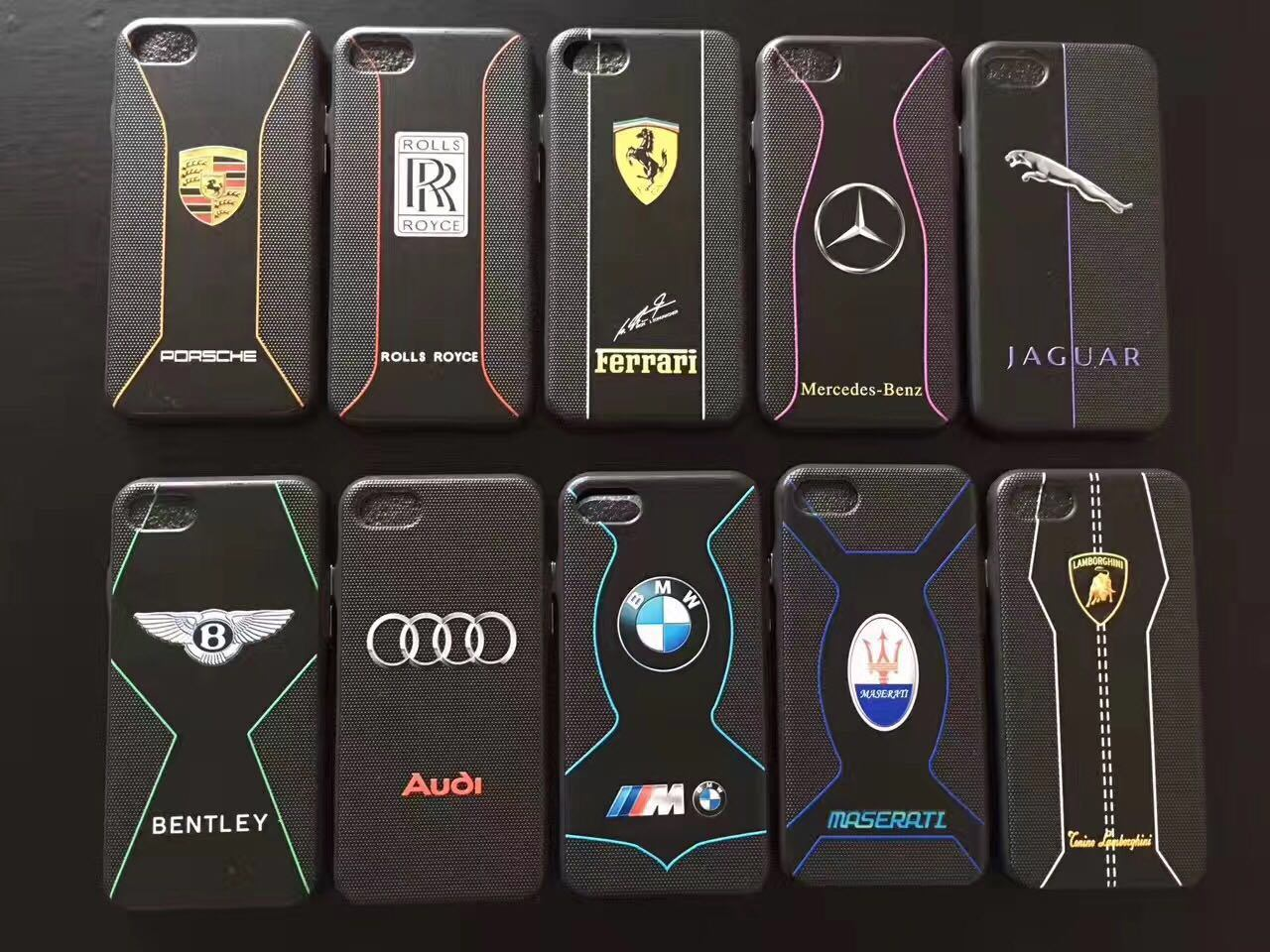 New Arrive 2017year Man Case Car Logo Mobile Phone Case for iPhone6/6s/7/7plus