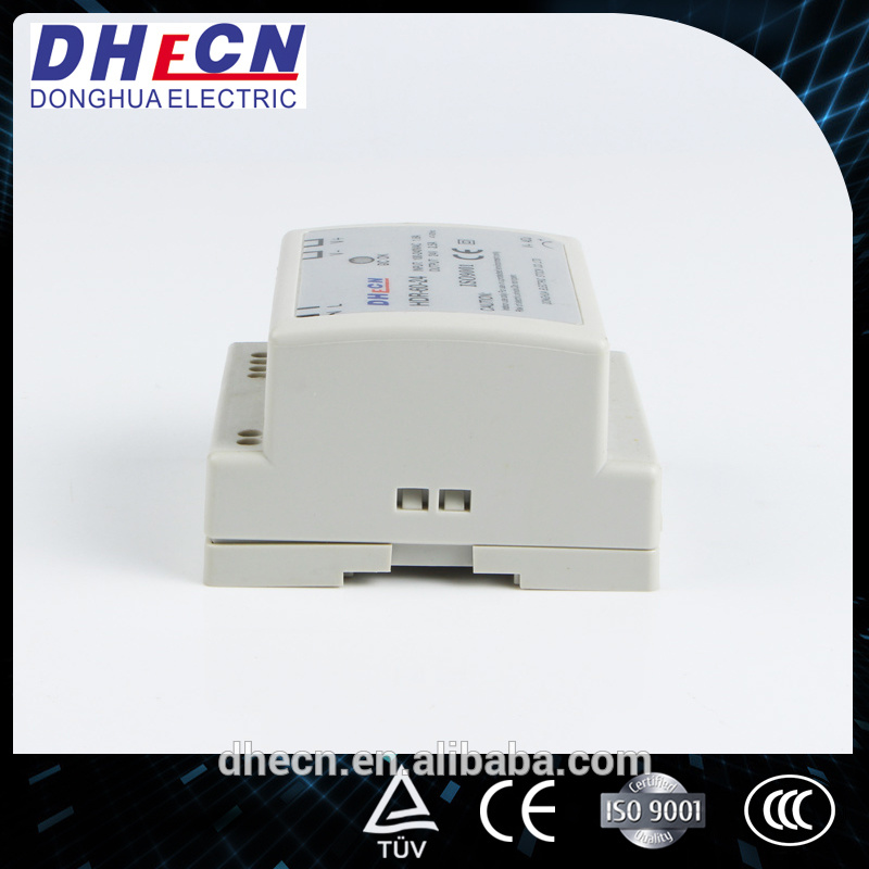 HDR-45, 45W DIN Rail Switching Power Supply 5VDC, 12VDC, 15VDC, 24VDC Can Be Offered