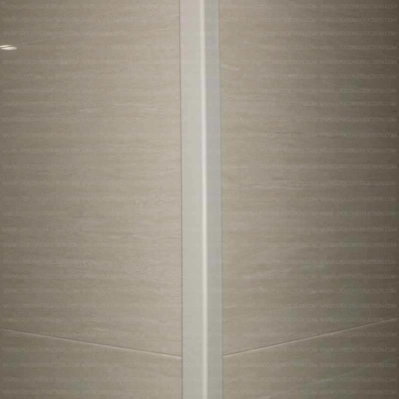 Fireproof Wall Protection Vinyl Decorative Wall Corner Guards