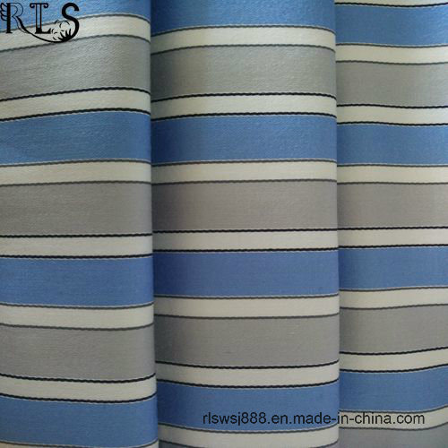 100% Cotton Poplin Yarn Dyed Fabric for Shirts Dress Rlsc40-16