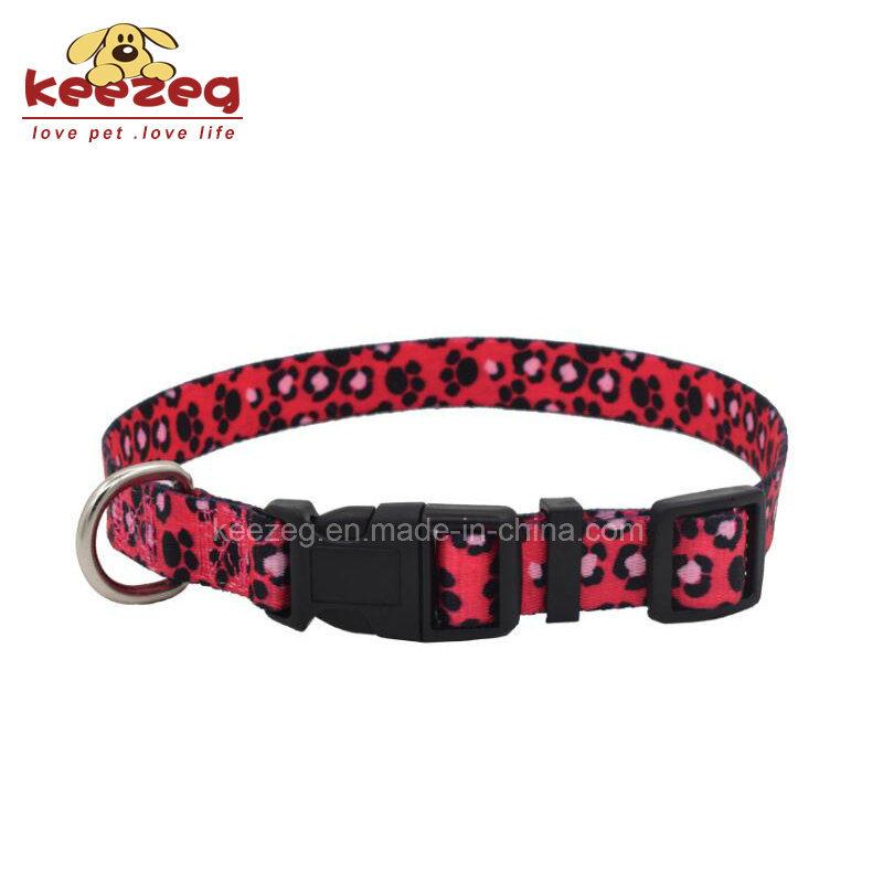 New Style Nylon Transfer Printing Dog Cat Collars (KC0094)
