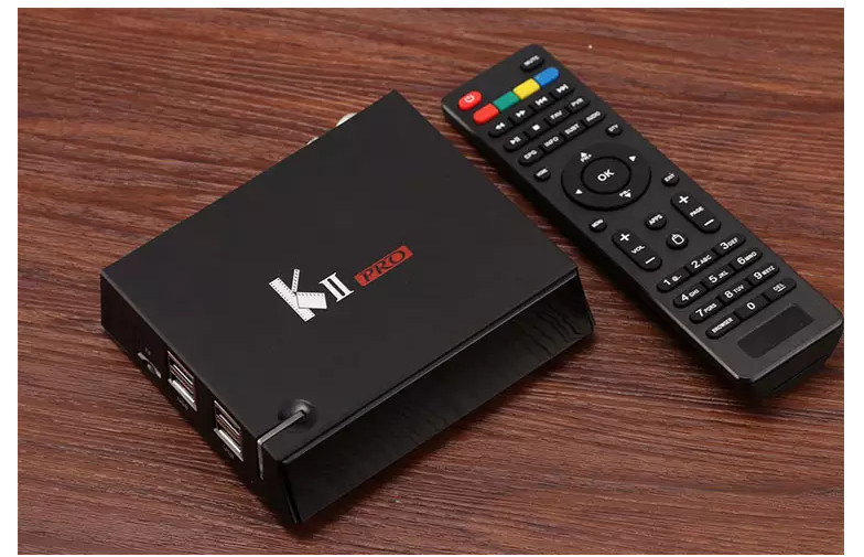 DVB-T DVB-T2 DVB-S2 Android TV Box Loaded Quad Core Bluetooth HD 4k S905 TV Box