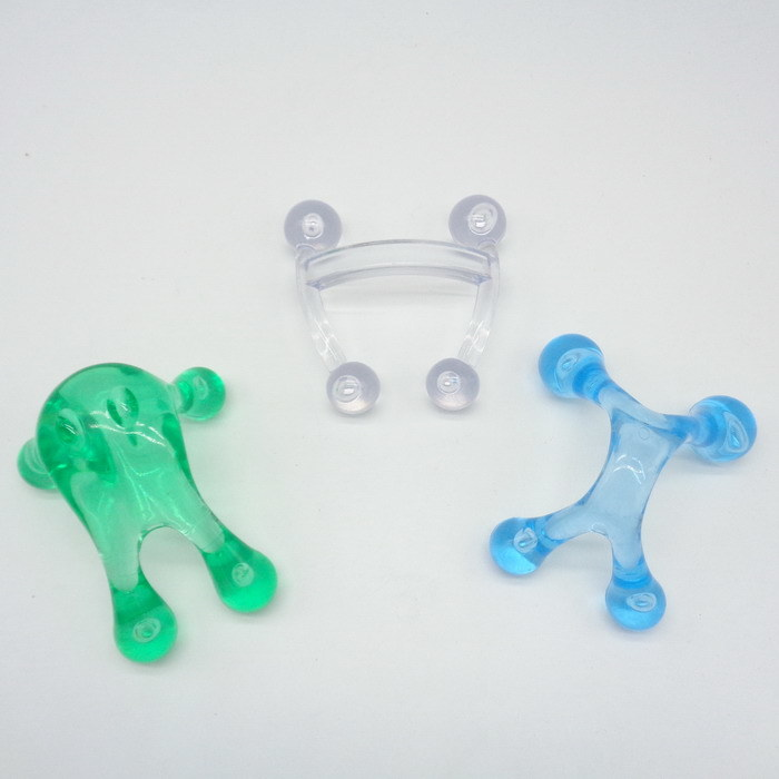 Plastic Mini Handle Body Neck Massager (JMC-392B)
