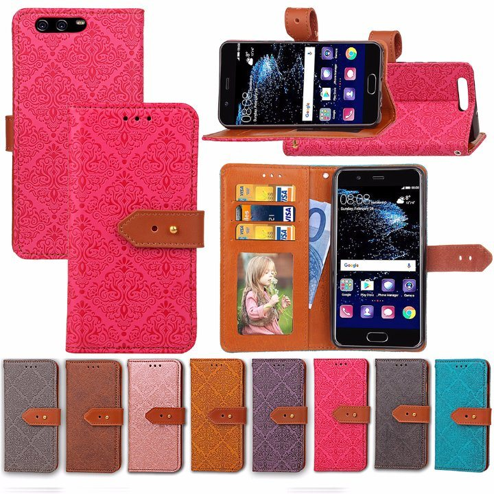 Leather Case Flip Cover for Huawei P10