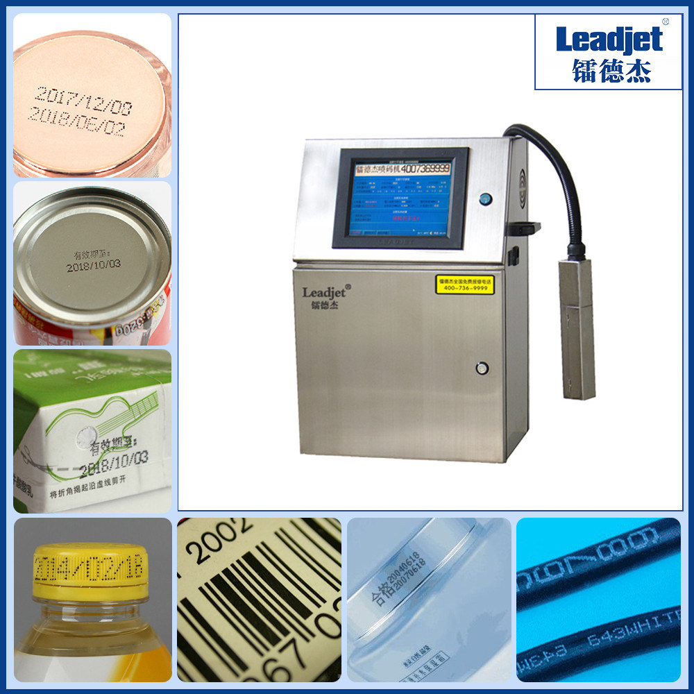 Leadjet Industrial Eco Solvent Inkjet Date Printer