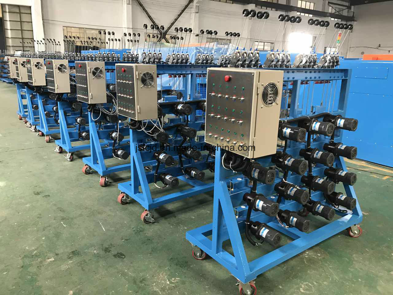 Active Motor Drived Copper Wire Pay-off Rack or Machine (FC-180) 250mm Bobbin