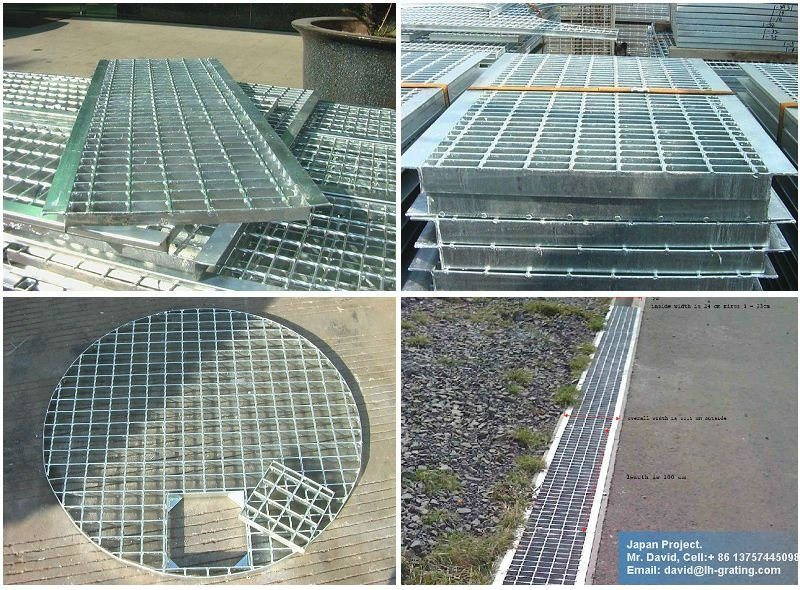 Galvanized Q235 Steel Grating for Industry Platform and Trench Cover