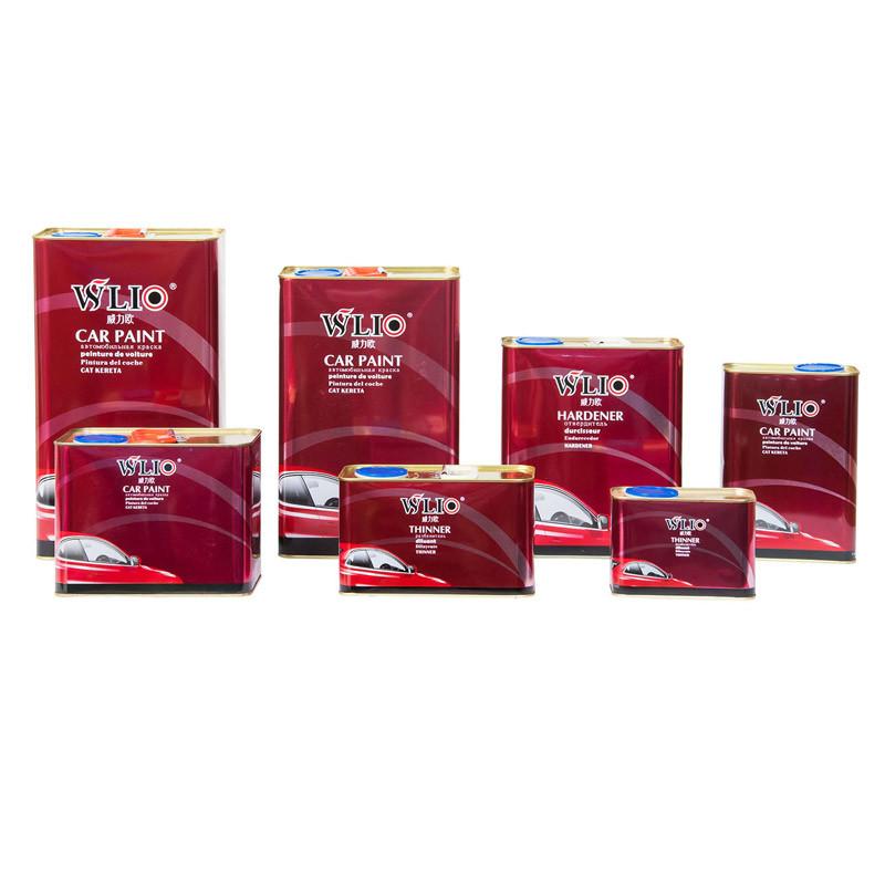Wlio Auto Paint - Diamond Clear Coat and Hardener