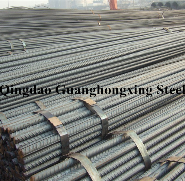 Hrb 500, ASTM A615, BS4449, JIS G3112, Hot Rolled, Deformed Steel Rebar