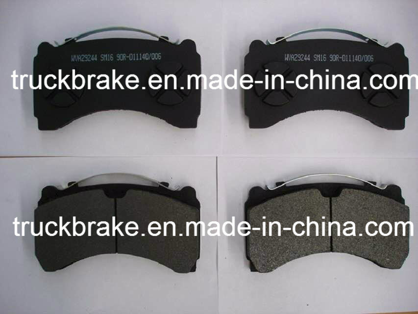 Truck and Bus Brake Pad/Brake Parts Wva29244/29245 for Spare Parts