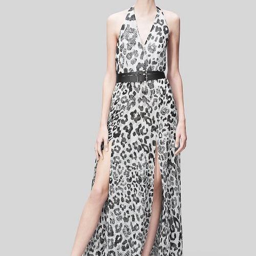 Leopard Print Fabric for Dress