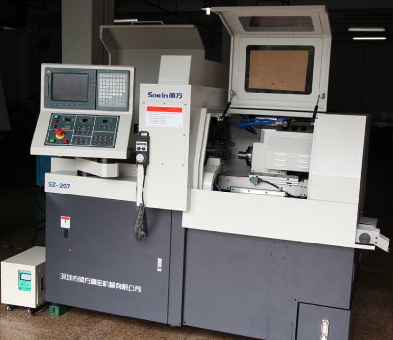 Swiss Type CNC Automatic Lathe