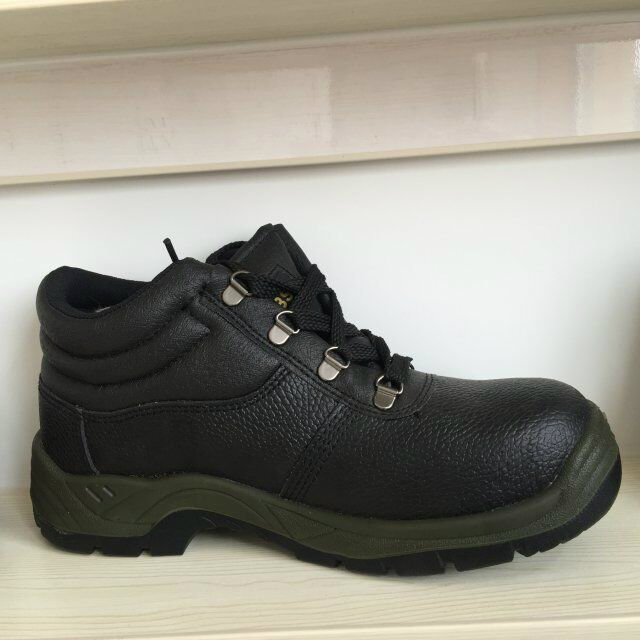 Steel Toe Cap Leather Men Safety Shoes, Safety Footwear Ufc005
